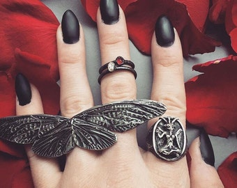 cicada wing duster ring