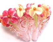 Peonies Pink Crystal Sparkle Cones