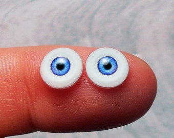 Doll eyes 8mm AD3 color French Blue