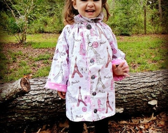 SALE Whimsy Couture Sewing Pattern Tutorial PDF ebook -- Ruffler Peasant Jacket -- Girls sizes nb - 12 girls Instant