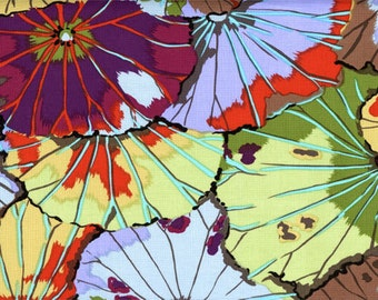 "FAT QUARTER FQ22 Kaffe Fassett Lotus Leaf Antique GP29 Precut 18""x22"" Fabric Cotton Quilting Westminster"