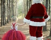 Santa Dress Lace Holiday ...