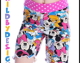 YOU pick the fabric Shorts Shorties for Child Yoga Shorts Knit Shorts