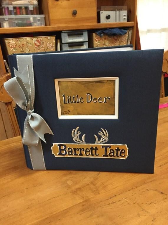 Little Deer Baby Memory Book