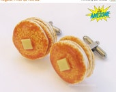 Christmas in July - Pancake Stack CUFF LINKS
