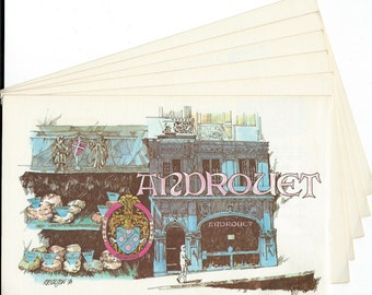 Androuet Paris Cheese Shop Illustrations to use in your Journal, Paper Arts, Collage, Scrapbooking, Mixed Media and MORE