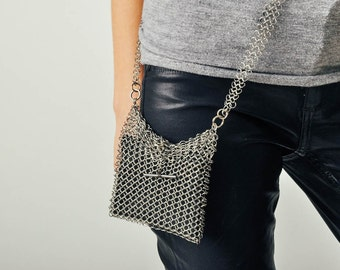 Vintage Chainmail Small Purse