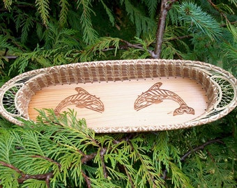 Cedar Long Ovoid Pine Basketry Center Boards