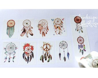 Dreamcatcher Washi Tape • Tribal Feather Tape (183999)