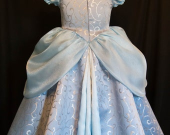 Cinderella GOWN Costume DELUXE CHILD Version Limited