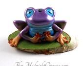 Frog Art Doll