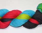Light Sabers Hand Dyed Sock Yarn