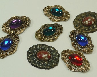 Steampunk Victorian  Bits And Baubles Embelishments For Jewelry Making, Paper Crafting, Scrapbooking