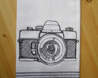 Camera Kitchen Towel