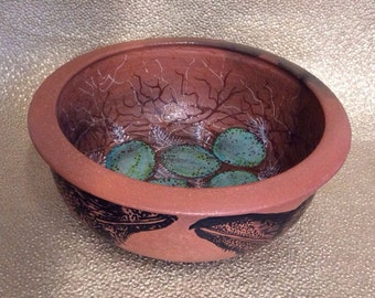 Raven Nest Blessing Bowl of Mica Clay from New Mexico