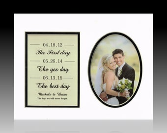 Wedding sign The first day the yes day Anniversary gift  husband Gift wife First anniversary present Wedding gift personalized custom