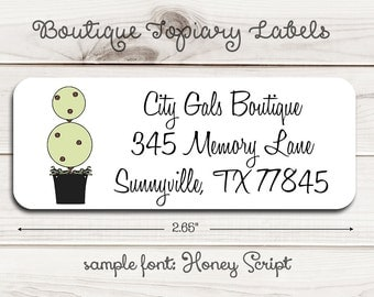 Boutique Things Return Address Labels