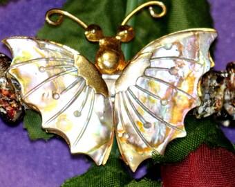 Butterfly in Flight Barrette