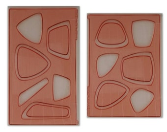 Cabezel Molds: Set of 2  of the most popular -3 Fab Focals #1, 3 Fab Focals #2