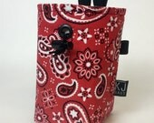 Red Bandana Chalk Bag