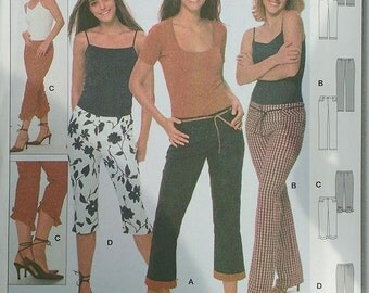 Burda Misses Pants Pattern 8698
