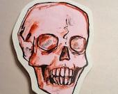 small pink skull