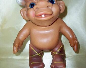 Offers welcome on a Vintage HTF John Nissen Denmark Viking troll doll collectors item