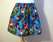 Avengers Girls skirt, includes Hulk, Iron man and Thor