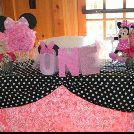 Items similar to black polka dot tablecloth choose size for Black polka dot tablecloth