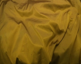 Chartreuse Green - Faux Silk Taffeta Fabric - fat 1/4