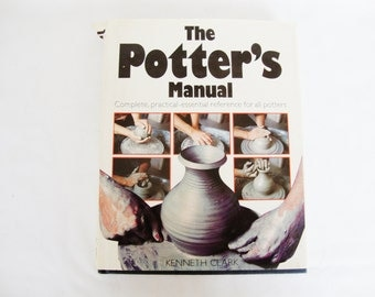 vintage pottery potters manual book kenneth clark