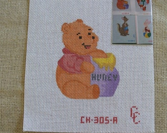 Winnie the Pooh needlepoint canvas