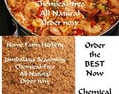 Jambalaya Seasoning, Salt-free, Order now, FREE shipping