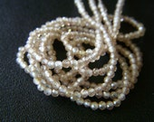 Custom Listing - RESERVED - Natural Champagne Zircon Petite Microfaceted Roundels - Full Strand - 2mm - 12 Inches