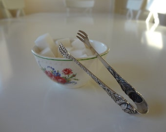 Sugar Tongs Silverplate Clawfoot Claw Foot Silver Plate Vintage  Afternoon Tea  - EnglishPreserves