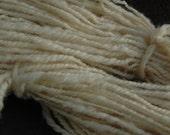 Natural  White Organic  Wool Yarn
