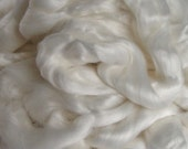 Roving Bamboo Top Fiber Undyed 16 ounces  for Hand Spinning Crafts handspinning natural plant Phat Fiber