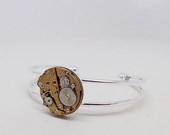 Steampunk jewelry. Steampunk cuff bracelet