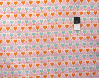 Anna Maria Horner FAAH018 Pretty Potent Family Unit Powder Flannel Fabric By Yd