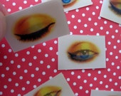 Lenticular Eye Closes and Opens, Set of Two
