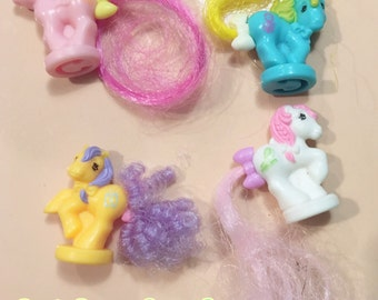 My Little Pony G1 Ponytail Petites, Lot Of 4