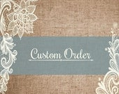 Custom Order for Joanna