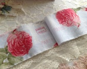 """PORT PAYE FRANCE  - Paris - Lovely Roses & Rose  Buds - Extra Wide 4"""""""