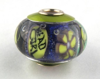 Bead Girl Lampwork Glass Bead by Chase Designs