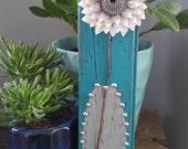 Zipper Flower in Vase