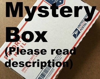 Handmade paper mystery box, gift box, surprise box, grab bag, pick n mix, assortment, homemade paper, eco friendly, recycled paper