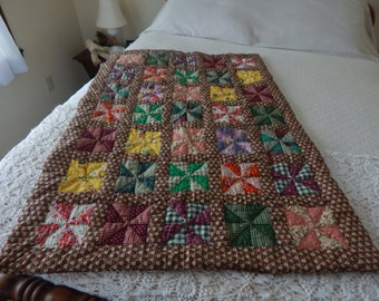 Vintage Doll/ Crib/Cradel Finished Quilt