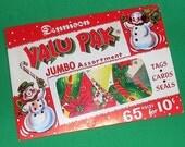 65 Vintage Dennison Stickers Seals Tags Cards  In Original Envelope 65 Pieces Unopened