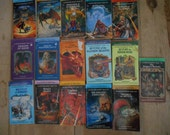 Vintage Lot of 16 An Endless Quest Dungeons & Dragons Books