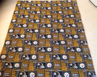 Pittsburgh Steelers  reversible  quilt
